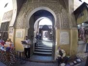 Entrance of Madrassah Bou Inania